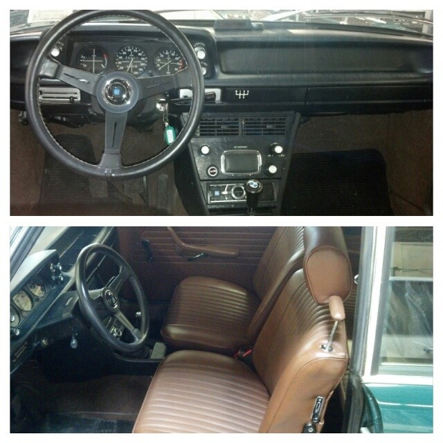 2002 we did with 5 speed swap, custom leather interior including seats and door cards, air conditioning, and completely redone stereo system! #bmw #bmw2002 #bmwclassic #bmwcustom #custom #interior #leather #clean #classic #bmwrestoration #nardi #torino #bmwstyle #cars #carporn #bmwgram #bimmergram #sportscarrestoration #thecarlife