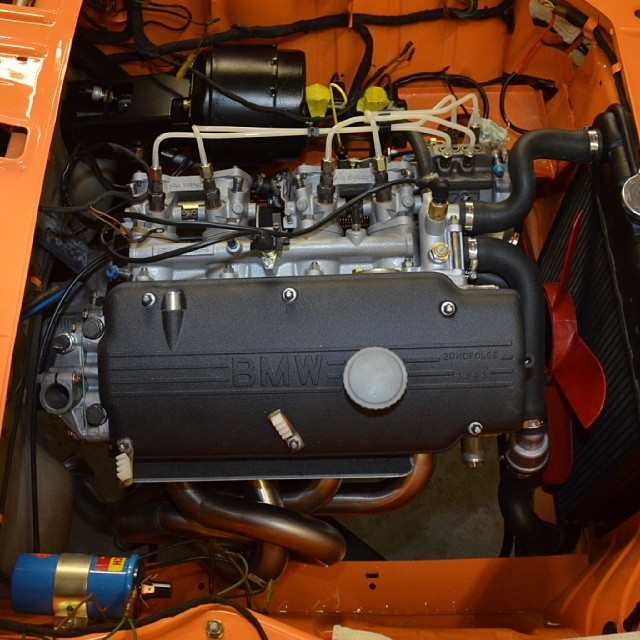 Wiring harness and headers installed in the 72 Tii #bmw #bmw2002 #2002tii #bmwclassic #bmwrestoration #bmwstyle #bmwgram #classic #restoration #restored #alpina #coloradoorange #engine #m10 #cars #carporn #carlook #carswithoutlimits #bimmergram #sportscarrestoration #thecarlife