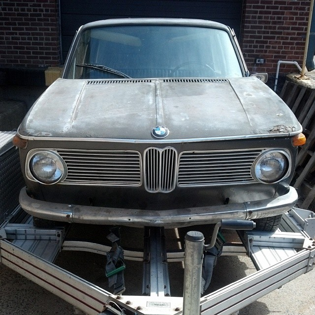 We just picked up a 67 1600 this week #bmw #bmw1600 #bmwrestoration #bmwclassic
