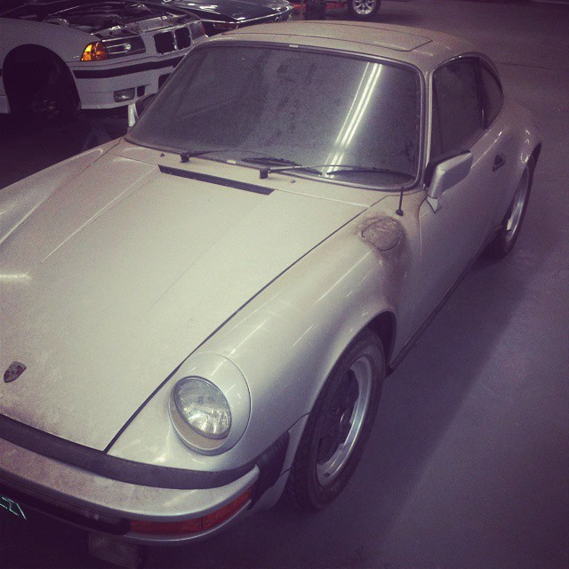 If Vincent Price owned a Porsche 911, it would be this dusty.