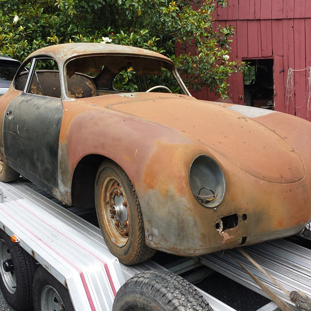 1957 Coupe, headed to SCR.