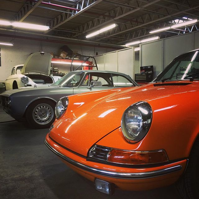 In great company @churchillclassics  #911t #alfaromeo #porsche356