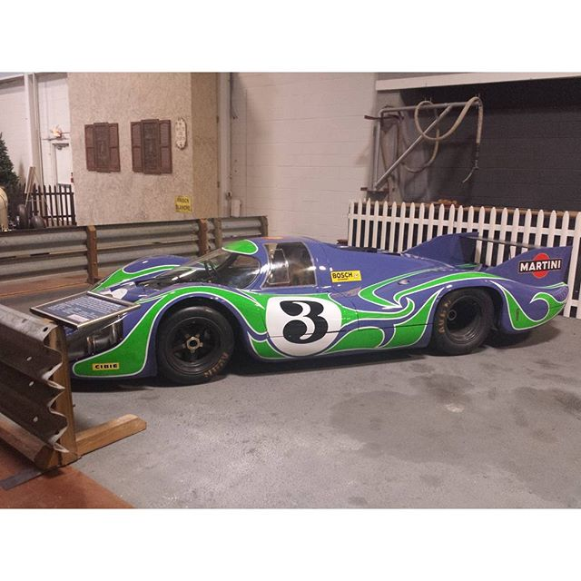 "Simeone Museum. The famous 917 LH ""Hippie Car"""