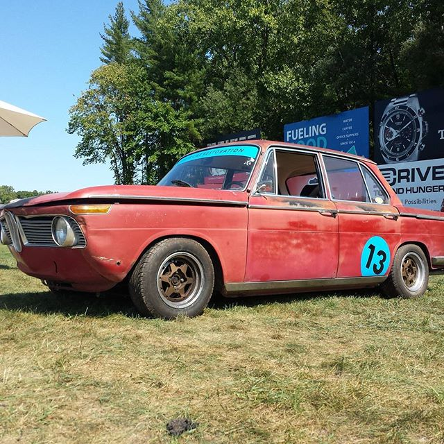 "NW's 1966 BMW 1800 ""#13"" @ 2016 Lime Rock Historics"