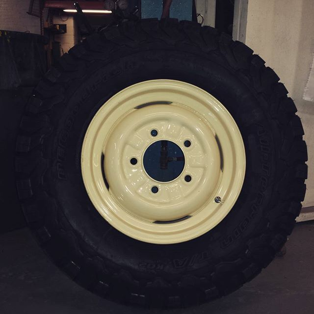 Land Rover Series III Rubber, Huge.