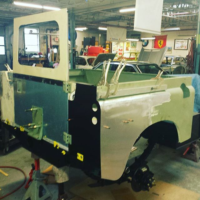 1978 Santana panel fabrication, repair and replacement. #roversnorth #roversmagazine