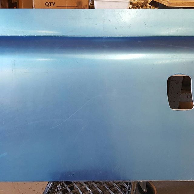 Lance Rover door skin fabrication