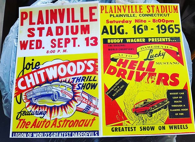 Reproduced prints from Plainville Stadium